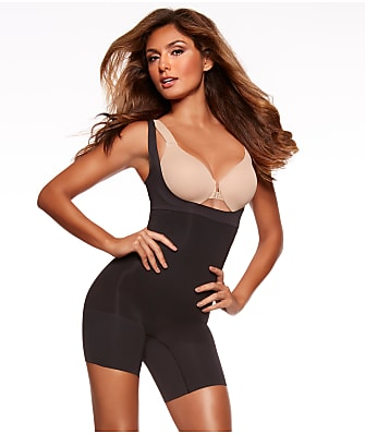SPANX Shape My Day Medium Control Open-Bust Bodysuit