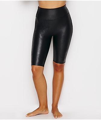 SPANX Faux Leather Bike Shorts