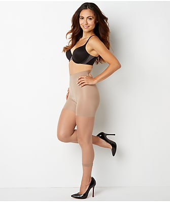 SPANX Power Capri Medium Control Footless Pantyhose