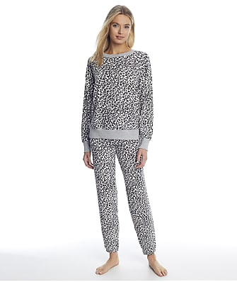 Splendid Animal Sweater Knit Pajama Set