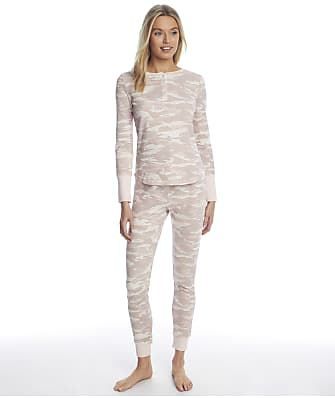 Splendid Camo Thermal Pajama Set