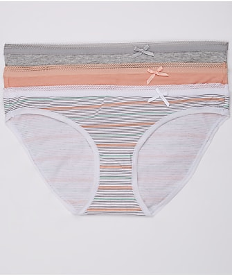 St. Eve Cotton Bikini 3-Pack