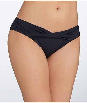 Sunsets Black Sash Bikini Bottom