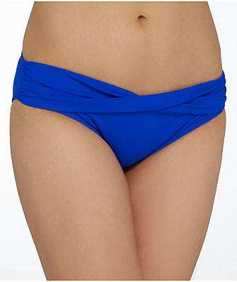 Sunsets Ultra Blue Twist Sash Bikini Bottom