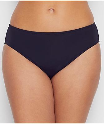 Sunsets Black Basic Bikini Bottom