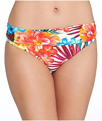 Sunsets Fiji Flora Banded Bikini Bottom