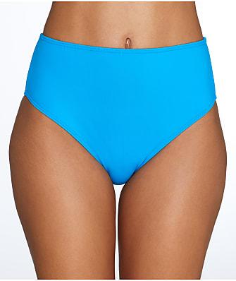 Sunsets French Blue High-Waist Bikini Bottom