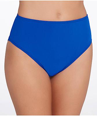 Sunsets Ultra Blue High-Waist Bikini Bottom