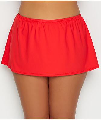 Sunsets Plus Size Scarlet Kokomo Skirted Bikini Bottom