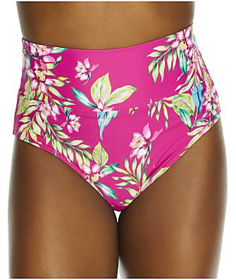 Sunsets Orchid Oasis Fold-Over High-Waist Bikini Bottom