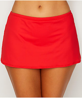 Sunsets Scarlet Kokomo Skirted Bikini Bottom