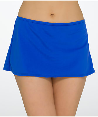 Sunsets Ultra Blue Skirted Bikini Bottom