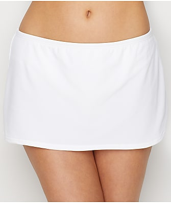 Sunsets White Lily Kokomo Skirted Bikini Bottom