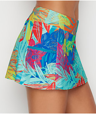 Sunsets Hot Tropics Sporty Skirted Bikini Bottom