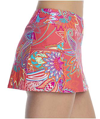 Sunsets Island Bliss Sporty Skirted Bikini Bottom