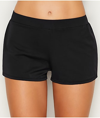 Sunsets Black Marina Swim Shorts