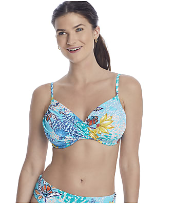 Sunsets Aqua Reef Crossroads Bikini Top