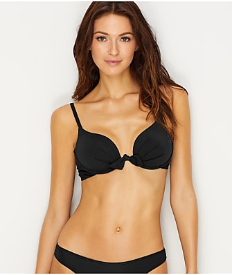 Sunsets Black Legend Push-Up Bikini Top