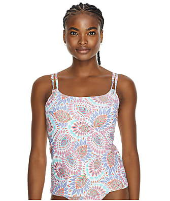 Sunsets Vivid Plumes Taylor Underwire Tankini Top