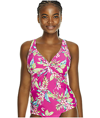 Sunsets Orchid Oasis Forever Underwire Tankini Top