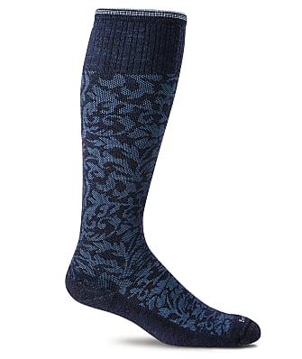 Sockwell Damask Moderate Graduated Compression Socks