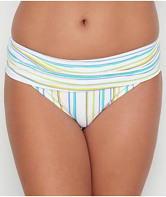 Swim Systems Oasis Stripe Banded Bikini Bottom