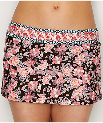 Swim Systems Camellia Rebel Skirted Swim Bottom