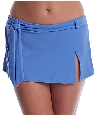 Swim Systems Bluebell Belted Skirted Bikini Bottom