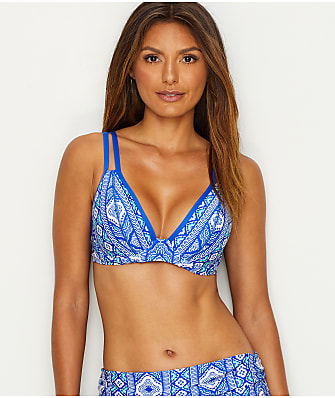 Swim Systems Diamond Ridge Plunge Bikini Top