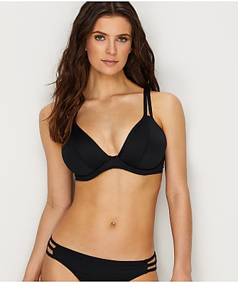 Swim Systems Onyx Avalon Convertible Bikini Top D-DD Cups