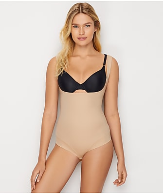 TC Fine Intimates Extra Firm Control Open-Bust Bodysuit