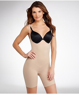 TC Fine Intimates Firm Control Open-Bust Torsette Thigh Slimmer