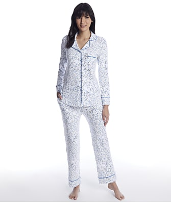 The Cat's Pajamas Confetti Dot Pima Knit Pajama Set