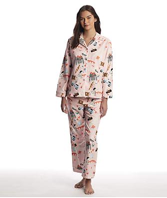 The Cat's Pajamas Paris Flannel Pajama Set