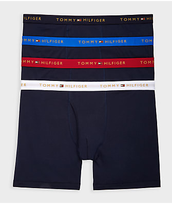 Tommy Hilfiger Cotton Classic Boxer Brief 4-Pack