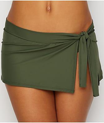 Tommy Bahama Pearl Solids Skirted Bikini Bottom