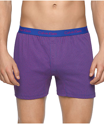 Calvin Klein BXR Matrix Slim Fit Knit Boxer