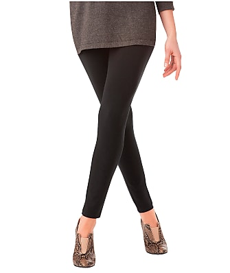 HUE Plus Size Ultra Leggings With Wide Waistband