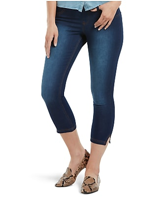 HUE Ultra Soft Denim Capri Leggings