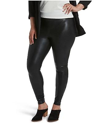 HUE Plus Size Body Gloss Leggings
