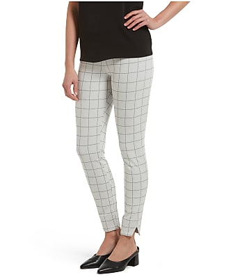 HUE Plaid Ponte Pants