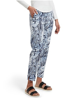 HUE Watercolor Zebra Temp Tech Trouser Pants