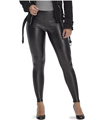 HUE Leatherette High-Waist Leggings