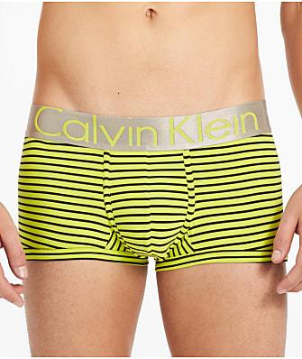 Calvin Klein Steel Microfiber Low Rise Trunk