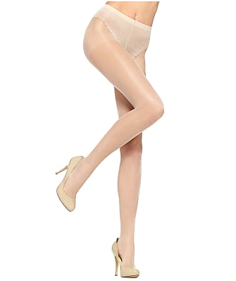 HUE SO SEXY French Lace Sheers Control Top Pantyhose