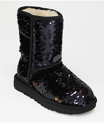 UGG Classic Short Sequin Boots
