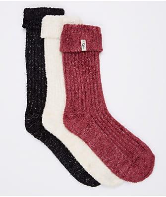 UGG Cozy Sparkle Sock Gift Set