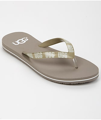UGG Simi Graphic Flip Flops
