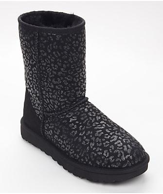 UGG Classic Short Snow Leopard Boots