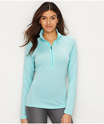 Under Armour Heat Gear Tech 1/2 Zip-Up T-Shirt